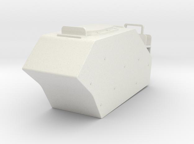 1/16 M113AS4 LEFT EXTERNAL FUEL TANK in White Natural Versatile Plastic