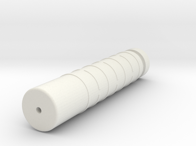 Silencer Handguard in One (14mm-) in White Natural Versatile Plastic