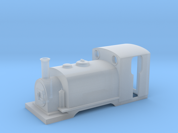 FR England Loco Body Kit in Smooth Fine Detail Plastic