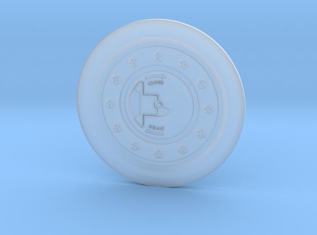 UH-1 Vario Fuel Cap 1/7 in Smooth Fine Detail Plastic
