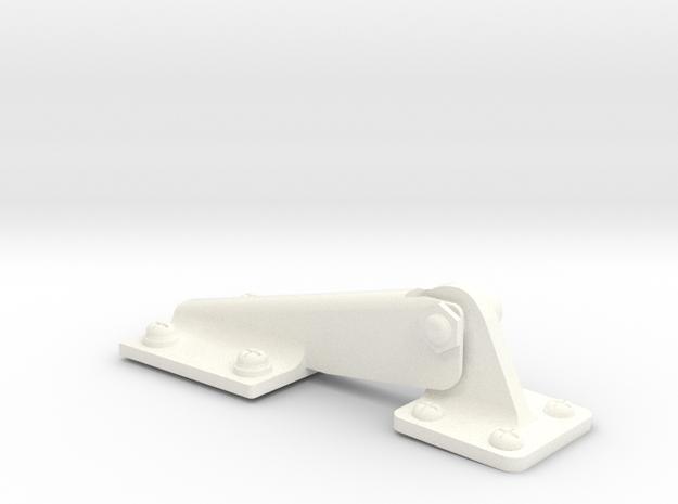 Charnières Soute EC145/135 1.6 in White Processed Versatile Plastic