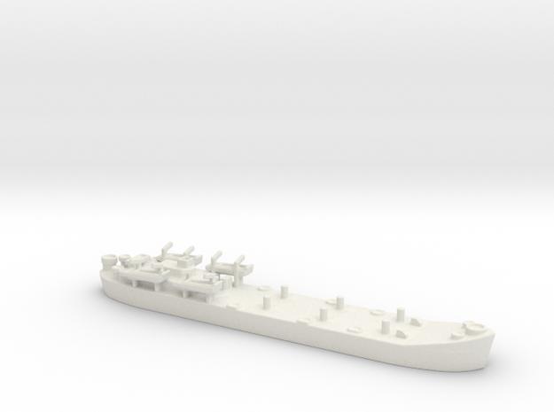 Landing Ship tank MK2 LST 1/600 5 in White Natural Versatile Plastic