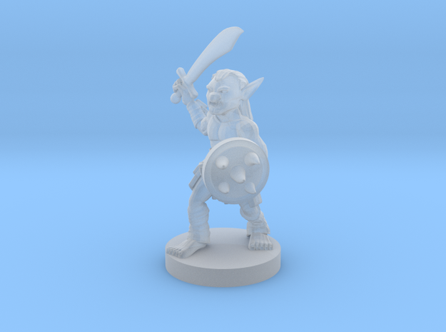 Goblin - Melee in Smooth Fine Detail Plastic