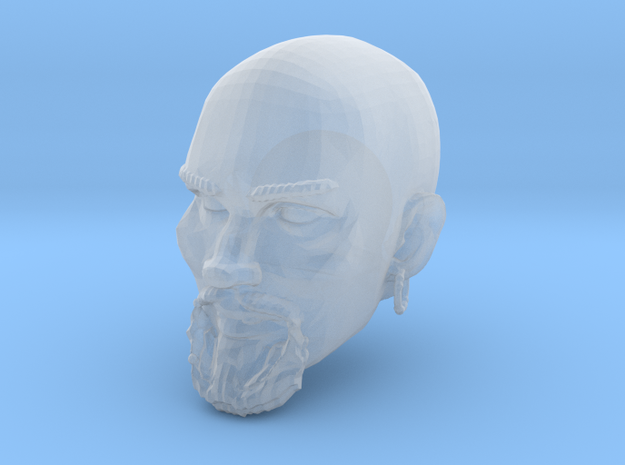 Ismail Head for Mythic Legions 2.0 in Smooth Fine Detail Plastic