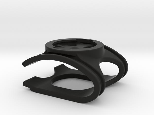 Speed Concept Garmin Mount (without GoPro mount) in Black Natural Versatile Plastic