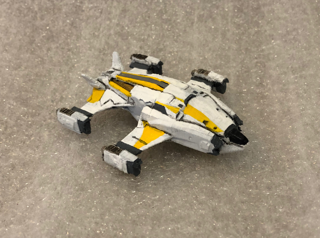 Alliance Chieftain: Elite Dangerous in White Natural Versatile Plastic