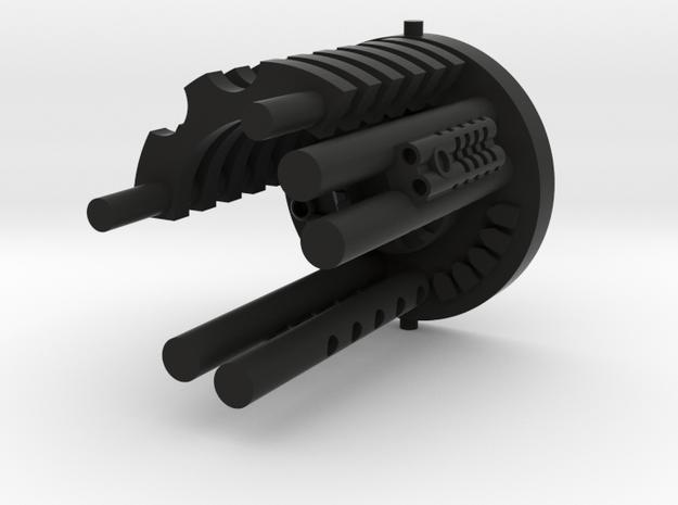 Plug Core C in Black Natural Versatile Plastic