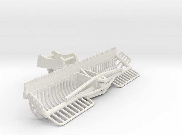 1/32 3 meter Maaikorf met adapter ewr150e in White Natural Versatile Plastic