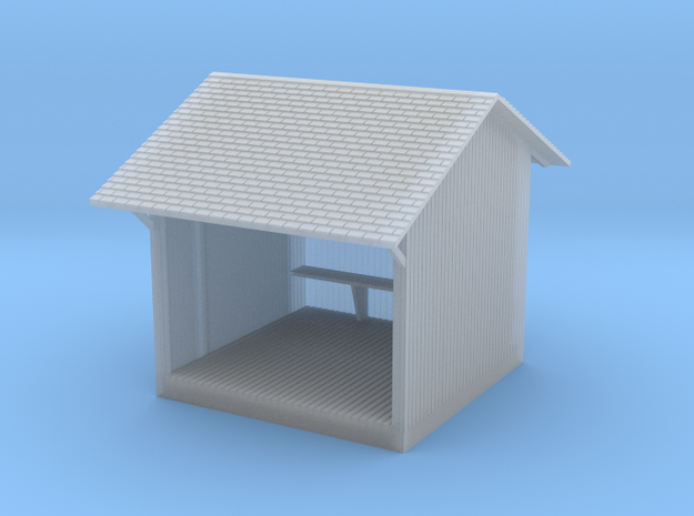 Ma & Pa Laurelbrook Station in Smooth Fine Detail Plastic