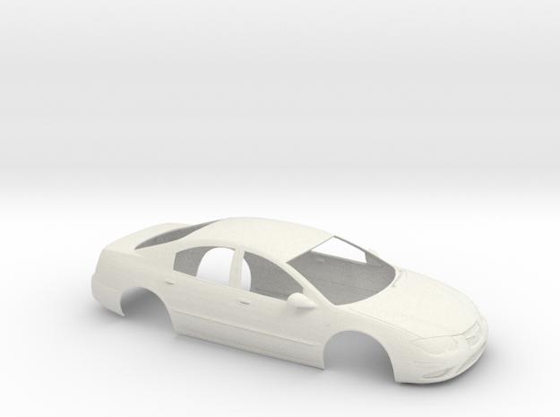 1/16 1998 Chrysler 300M Shell in White Natural Versatile Plastic