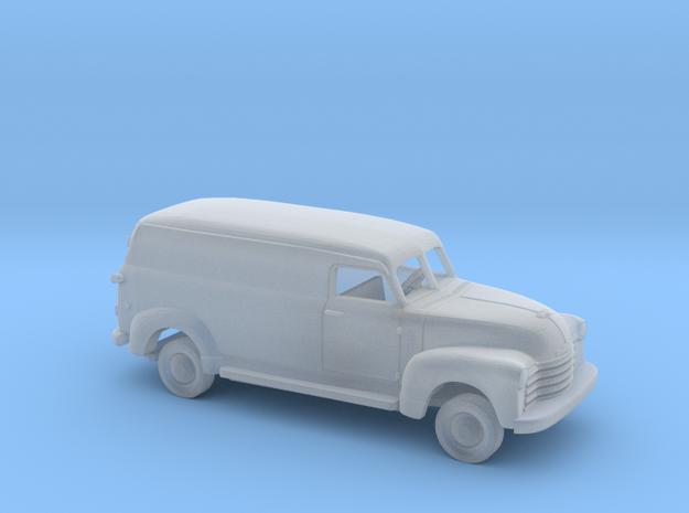 1/160 1947-54 Chevrolet LongPanel Van Kit in Smooth Fine Detail Plastic