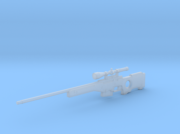 1:6 Miniature Mauser SRG Desert in Smooth Fine Detail Plastic