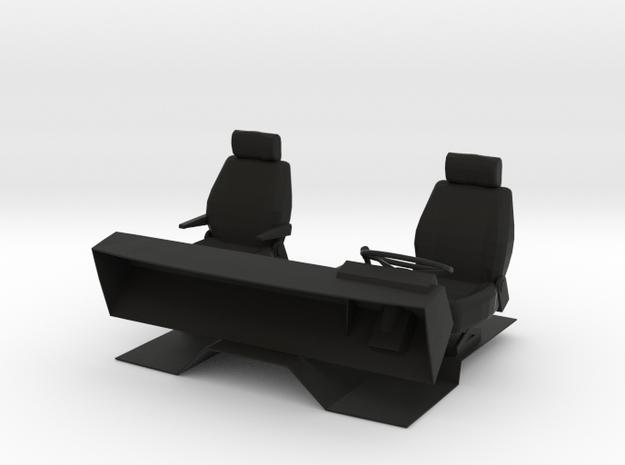 Innenraum / Interieur in Black Natural Versatile Plastic