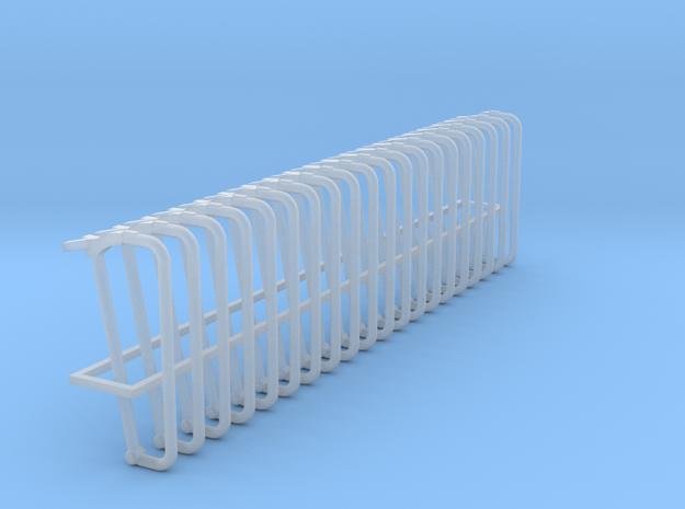 Stanchion 1 (20) in Smooth Fine Detail Plastic