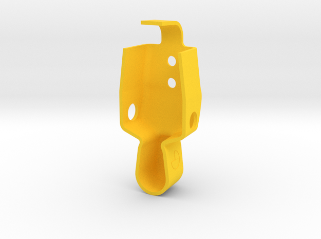 Party zone Dummy in Yellow Processed Versatile Plastic