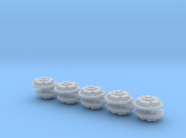 Commission 68 Drop Pod Icons x10 in Smooth Fine Detail Plastic