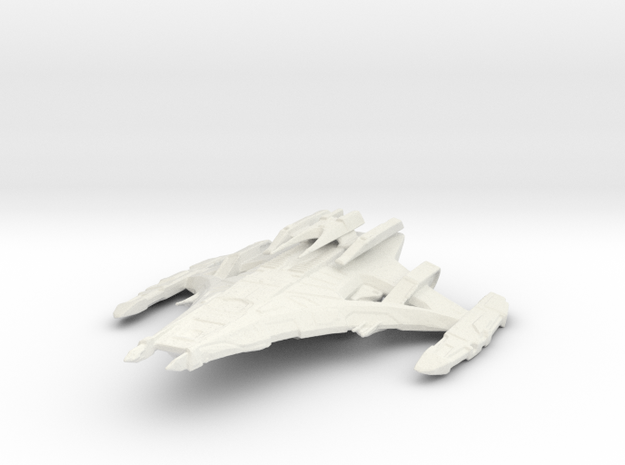Dominion Battleship in White Natural Versatile Plastic