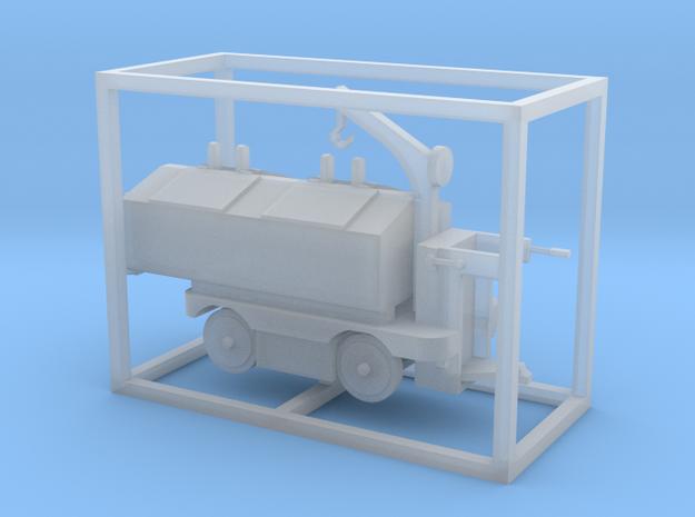 E-Karren Müllwagen V1 mit Kran - 1:120 TT