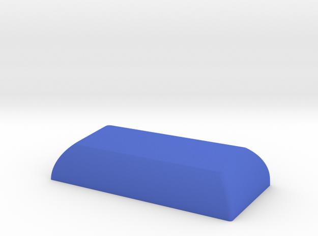 2.00c HuB Spacebar in Blue Processed Versatile Plastic