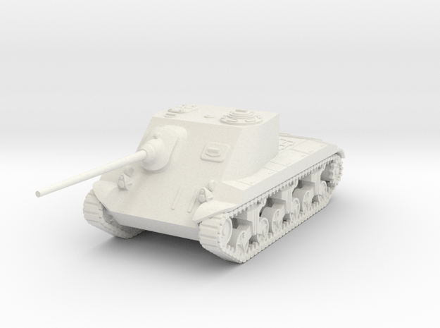 1/87 (HO) T25 AT SPG in White Natural Versatile Plastic