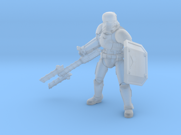 First Melee Trooper A2 in Smoothest Fine Detail Plastic
