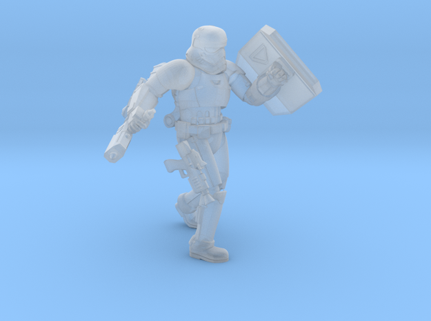 First Melee Trooper A3 in Smoothest Fine Detail Plastic
