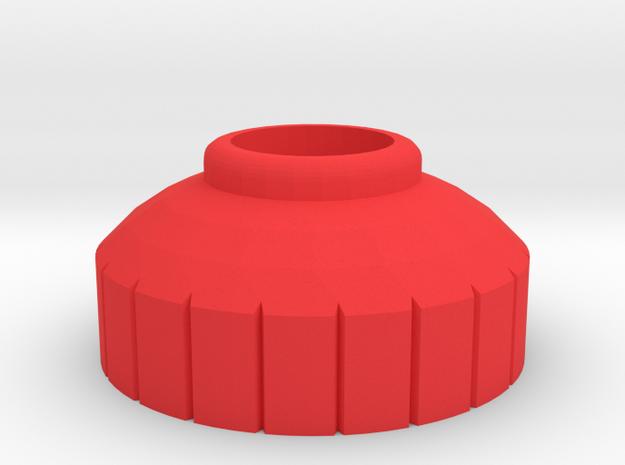 PRNT3D 4.5mm Bottle Nip [Short] in Red Processed Versatile Plastic