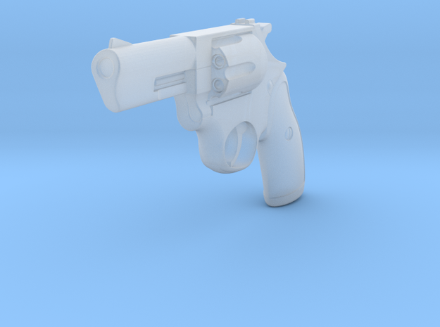 1:3 Miniature Ruger 38 LCR in Smooth Fine Detail Plastic