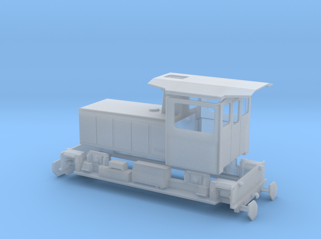 RBS Tmf 2/2 165-166 in Smooth Fine Detail Plastic: 1:120 - TT