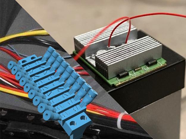 1:8 BTTF DeLorean dashboard set in Smoothest Fine Detail Plastic