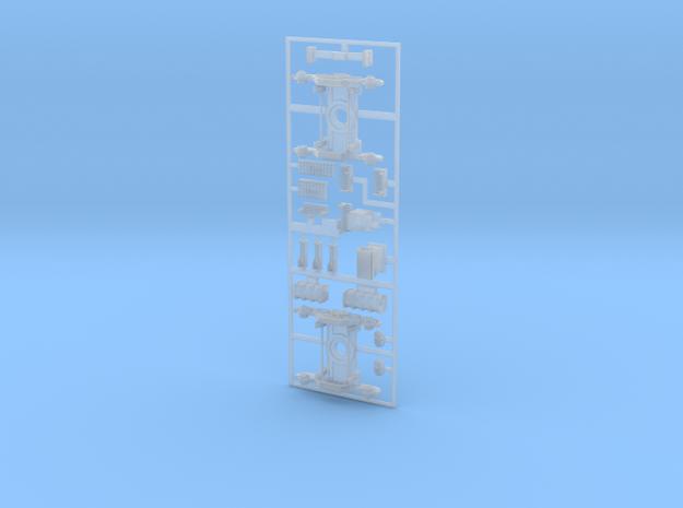 FAU00-400-00 Anbauteile Untergestell in Smooth Fine Detail Plastic