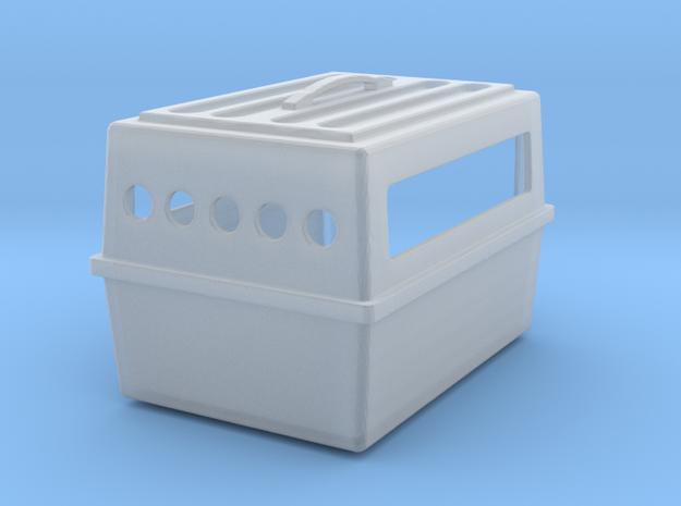 1/24 Dog Kennel - small size in Smooth Fine Detail Plastic