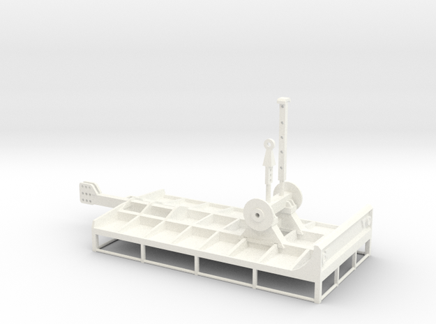 VGM Bakkenwagen 1:50 in White Processed Versatile Plastic