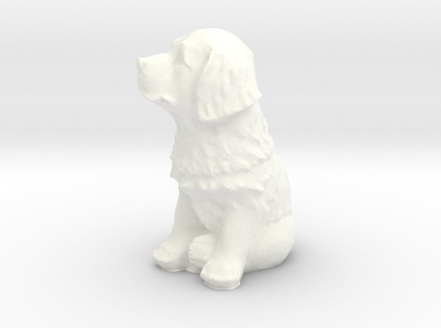 Puppy in White Processed Versatile Plastic: Large