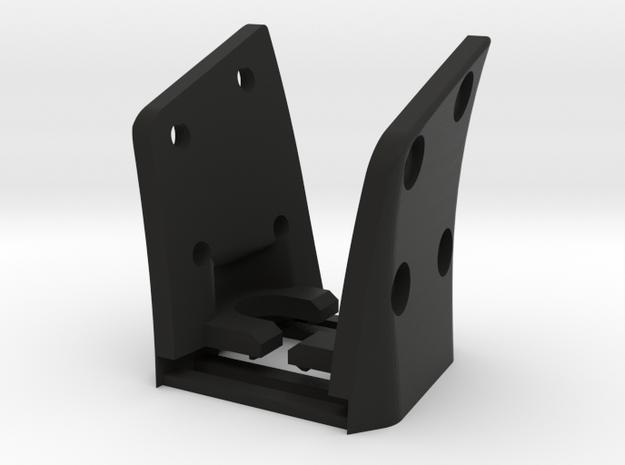 G35 (R&L Inside Bracket Joined) in Black Natural Versatile Plastic