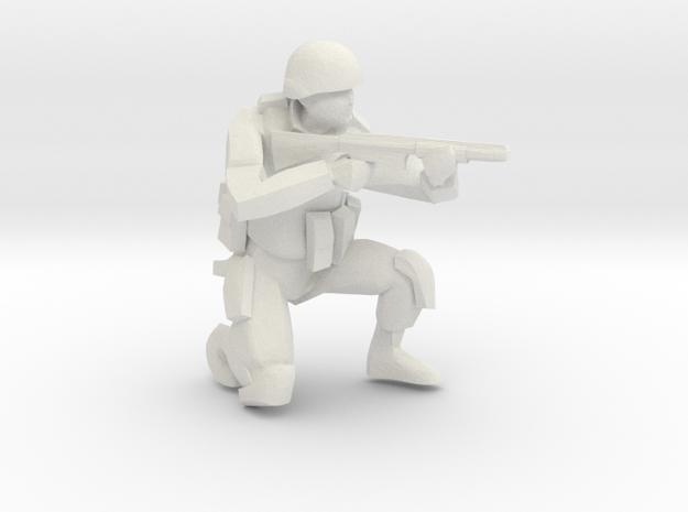 soldiersqsniper_10mm in White Natural Versatile Plastic