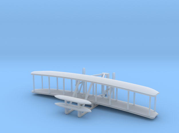 Wright Flyer - Zscale in Smooth Fine Detail Plastic