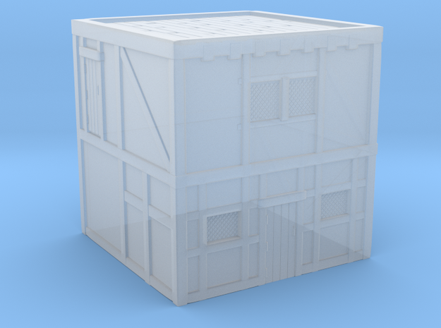 Glacier House without stairs (L) in Smooth Fine Detail Plastic: 1:300