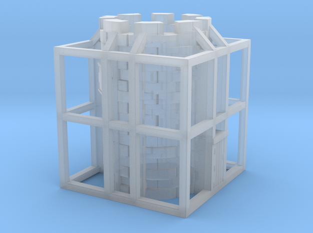 Glacier Tower in Smooth Fine Detail Plastic