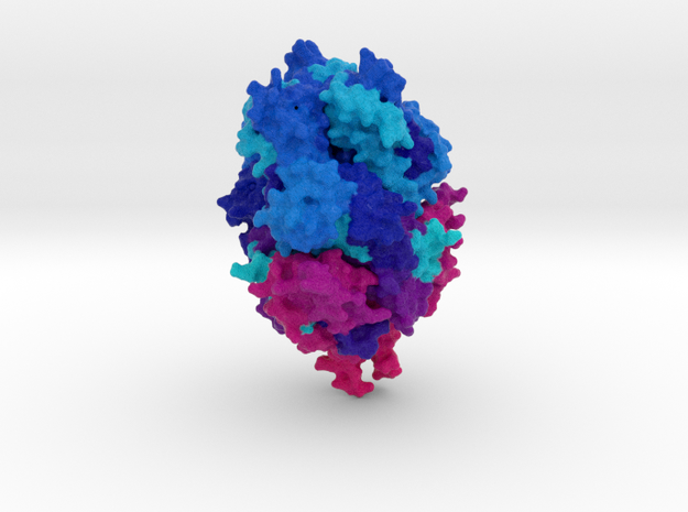 RSV Fusion Glycoprotein Prefusion in Natural Full Color Sandstone