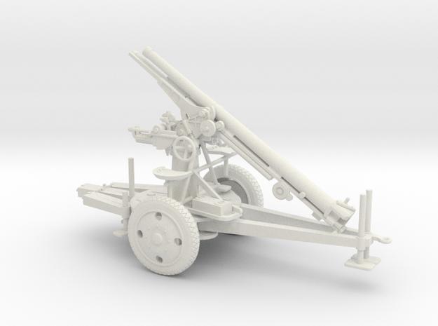 1/48 IJA Type 88 75mm towed in White Natural Versatile Plastic
