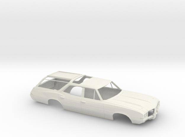 1/16 1968-72 Oldsmobile Vista Cruiser Shell in White Natural Versatile Plastic