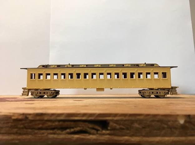 Central Pacific Commissioners Car (Ho Scale)