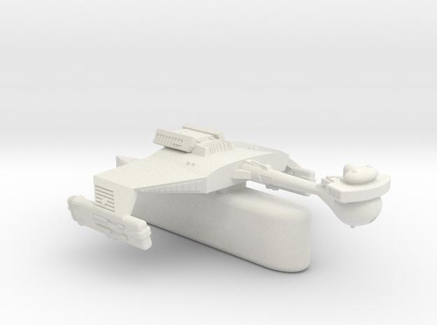 3125 Scale Klingon D5H Light Tactical Transport WE in White Natural Versatile Plastic