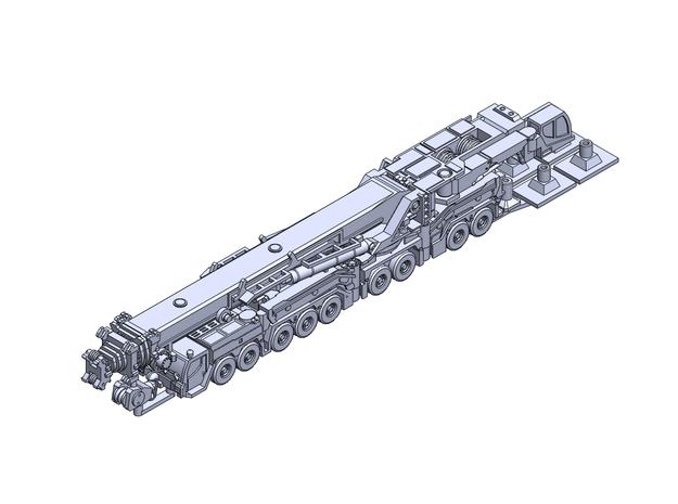 LiebLTM11200 crane rev3 in Smoothest Fine Detail Plastic: 1:400