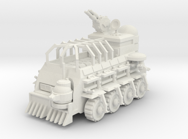 6mm scale Mobile base  in White Natural Versatile Plastic