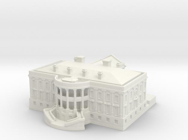 The White House 1/1250 in White Natural Versatile Plastic