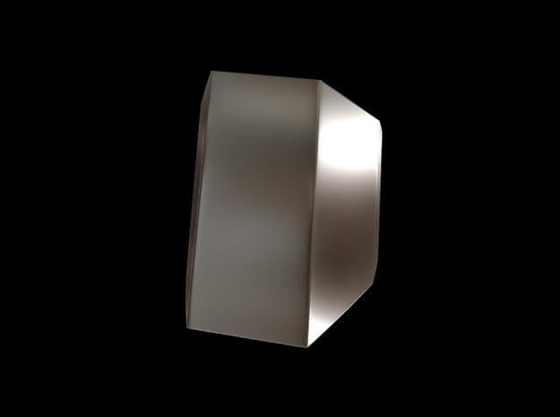 Iron Man Steel Pointer/Ring Finger (Joint 1) in Polished Bronzed Silver Steel