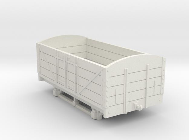 L&BR Open Wagon w/o Buffers OO Scale