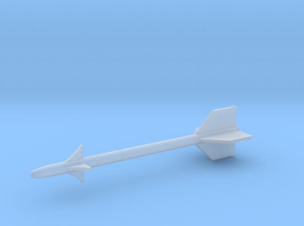 1:24 Miniature AIM-9 Sidewinder Missile in Smooth Fine Detail Plastic: 1:24